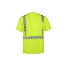 Vente en gros T-shirt réfléchissant à haute visibilité