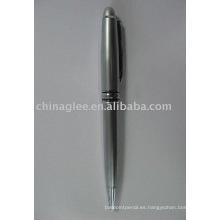 pluma de bola, bolígrafo metal