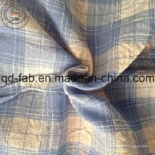 Algodão de linho tecido misturado com raio (QF13-0548)