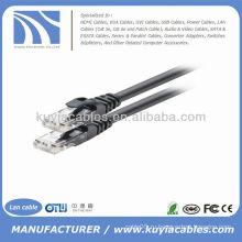 Black utp Cat6 Патч-корд Ethernet Сетевой LAN-кабель 4pr 24awg