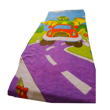 Anti Sand Beach Towel Turkish With Zipper Pocket