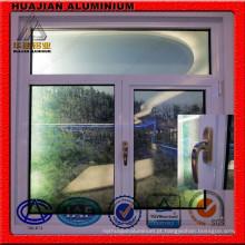 Perfis de alumínio revestidos em pó para janelas e portas térmicas