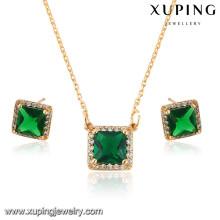 64036 Xuping New fashion 18k gold plated women jewelry sets