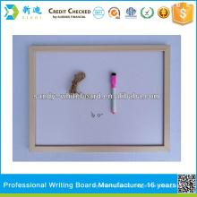 OEM magnetisches whiteboard mit hölzerner Rahmen trocken löschen weißes Brett