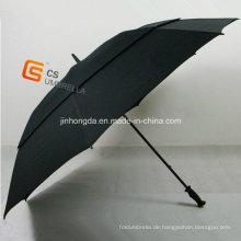 Fiberglas Rahmen winddicht Golfschirm (YS-G1001A)