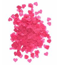 Confetti de papier de coeur coloré