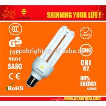 Новые функции! T4 3U CFL лампа 18W 1000H CE качество