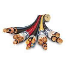 Câbles de mine mobiles et flexibles gainés en caoutchouc