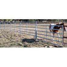 Cheap Metal Cattle Livestock Farm Fence Panel/Cattle Fence Panel Manufacture/USA Standard Cattle Panel/Galvanized 6 Bars Steel Cattle Panels