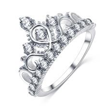 Tiara Crown Wedding Engagement Ring for Women (CRI01005)