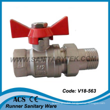 Brass Ball Valve with Union Pipe (V18-563)