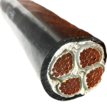 180 240 300mmsq  XLPE insulated toxicity free harmless termite-proof polyolefine jacketing  power cable