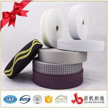 Cinta que teje del telar jacquar del poliéster de los 3.5cm para la cinta obligatoria del colchón