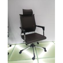 Modern high back swivel office chairs with headrest