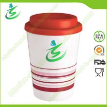 12 Unze Take Away Kaffeetasse, Kaffeetasse mit Deckel