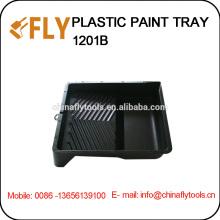 Bandeja de pintura plástica negra