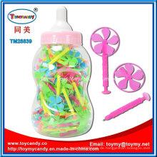 Natur-Material-Plastikwindmühlen-Feder-Spielzeug für Childs