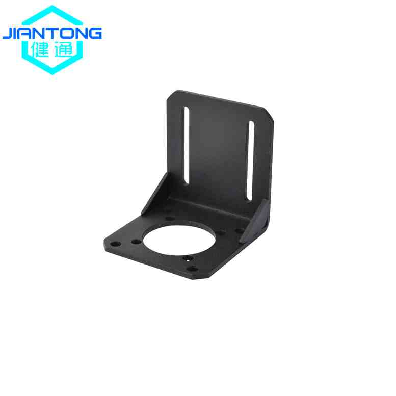 Metal Stamping And Bending Bracket With Black Coating