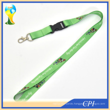 Cute Family Tag Lanyard with Green Background