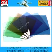 1,3mm-19mm Klar Blau Bronze Grün Grau Bau Glas
