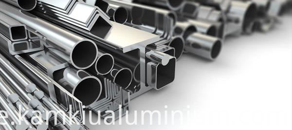 General profiles for aluminium
