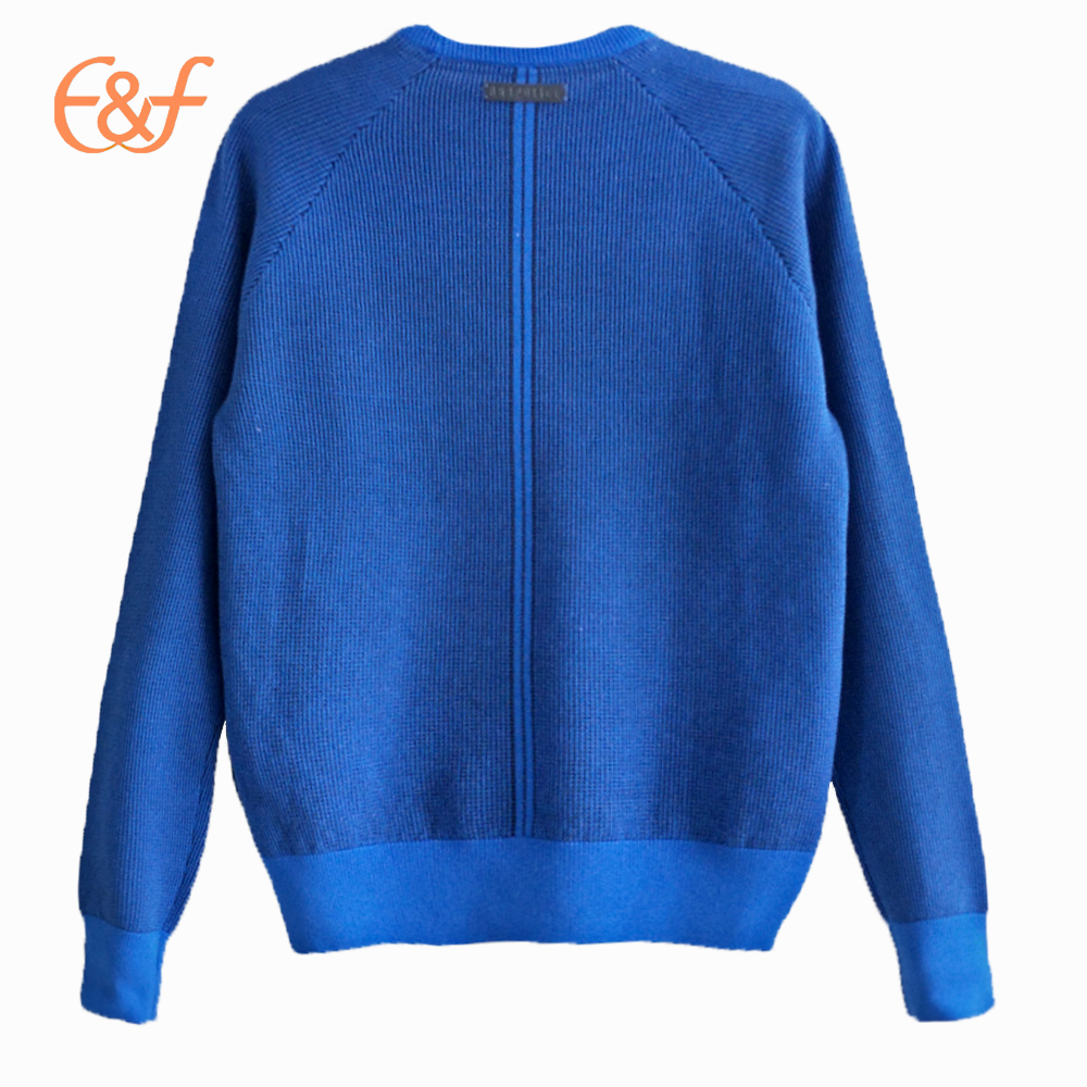 2017 Latest New Style Crew Neck Raglan Sweater