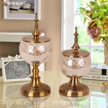 wedding table centerpieces Elegant and generous design glass vase for livine room home decorative glass vase