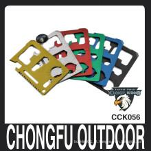 2015 colorido Bolso ferramenta multifunções cartão de crédito faca