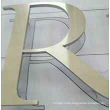 Building Business Office Apartment Indoor Outdoor Laser Waterjet Line Cutting Flat Cast Cut Metal Aluminum Acrylic Letter