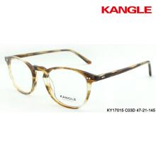 optical frames acetate eyewear stripes spectacles slim rim eyeshape all face