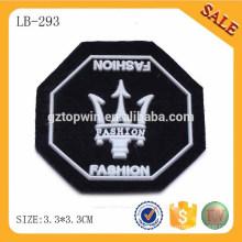 LB293 Новый способ 3d мягкий ПВХ тег, пользовательские выгравированы одежды ПВХ значок