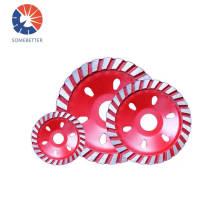 100mm Bowl Cup Shape Granite Stone Polishing Tools Diamond Ceramic Surface Concrete Grinding Wheel Disc