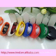 automatic retractable earphone cord cable winder