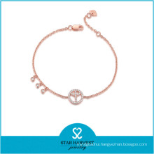 Newest Silver Fashion Earring and Women Bracelet for Christmas (B-0021)