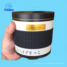 Objectif de miroir reflex de 500mm F 6.3 HD pour Pentax