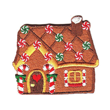 Lambang Embroidery House Festive Gingerbread Krismas