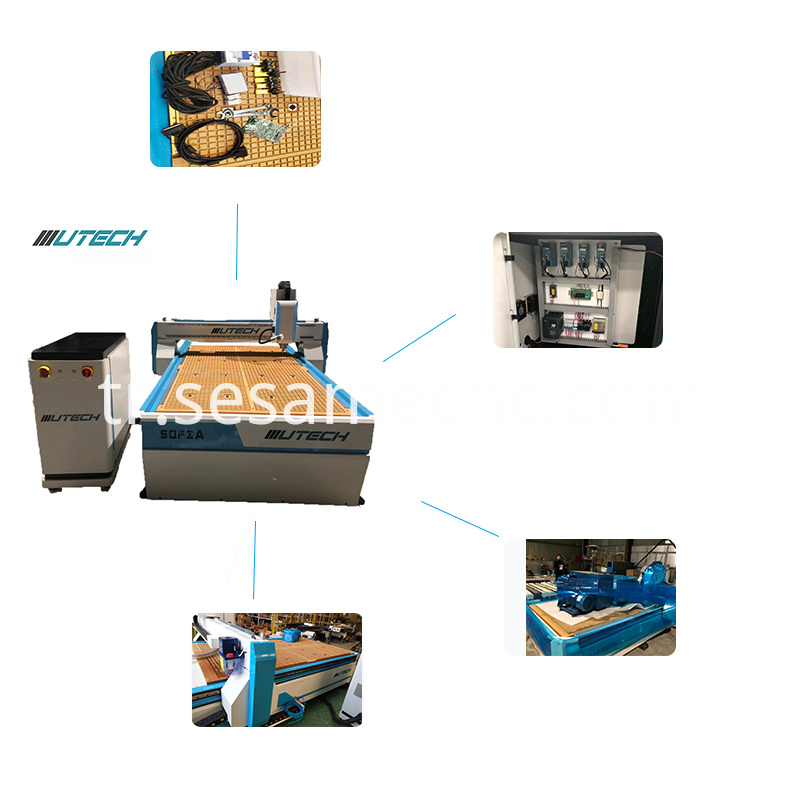 ccd wood cutting machine 1325 cnc