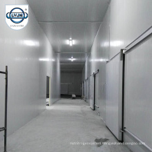 Top quality clean chicken feet blast chiller room with refrigeration units