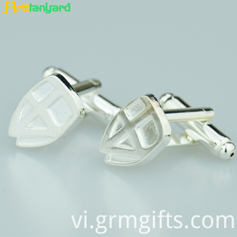 Alloy Silver Men S Cufflink