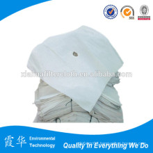 Water and oil filter fabric for filter press