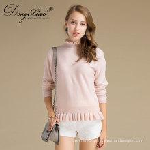 Nuevo diseño personalizado coreano estilo lana suéter de fabricantes en China