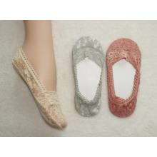 Calcetín de señoras de moda 3D