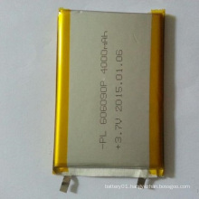High Quality 3.7V 606090 40000mAh Lithium-Polymer Battery for Power Bank