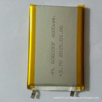 Bateria de lítio-polímero de alta qualidade 3.7V 606090 40000mAh para Power Bank