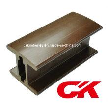 Garniture de plastique en bois de haute qualité en composite composite WPC Guardrail