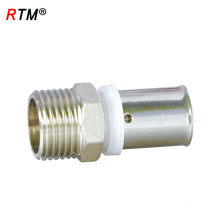 J17 4 13 1 press fitting for multilayer pipes quick connect pipe fittings