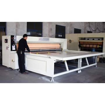 Machine de découpage rotatif semi-automatique Gzm