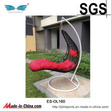 Chaise extérieure d'oeuf accrochant de patio de rotin de PE de qualité (ES-OL160)