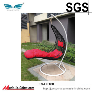 High Quality PE Rattan Patio Hanging Outdoor Egg Chair (ES-OL160)