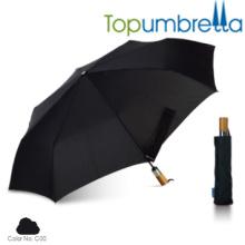 Nouveau design de poignée de luxe auto pliant main parasols Nouveau design de poignée de luxe auto pliant main parasols